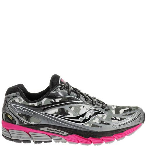 Кроссовки Saucony Ride 8 GTX Gtx White Black Pink, фото