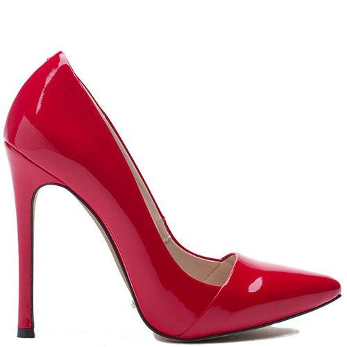 Туфли Modus Vivendi из натуральной кожи красного цвета лаковые, фото