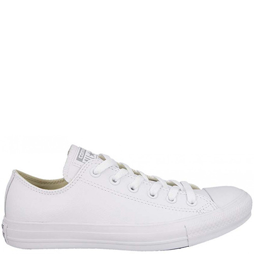 Кеды Converse Chuck Taylor All Star Leather белого цвета, фото