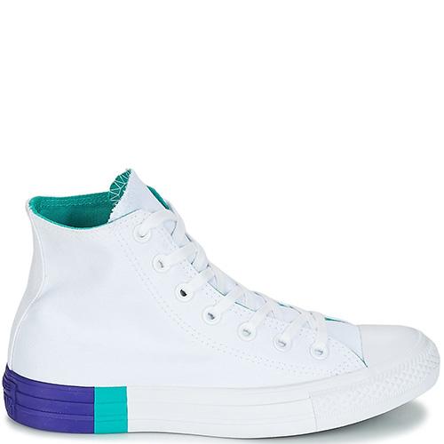 ☆ Кеды Converse Chuck Taylor All Star Hi белого цвета 159519C ... 29de50f0d207d