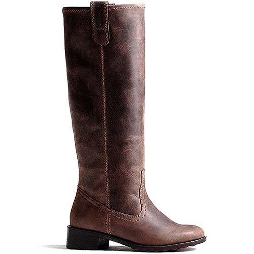 Женские сапоги Modus Vivendi кожаные кофейного цвета, фото