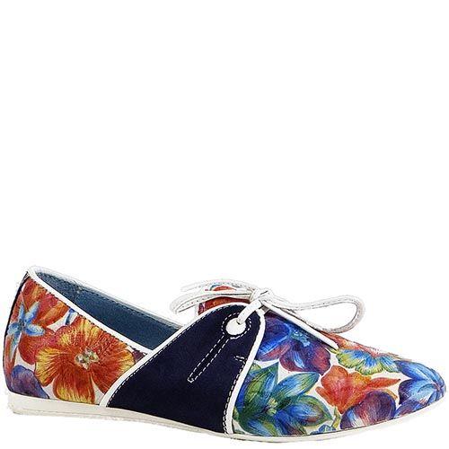 Женские туфли Modus Vivendi с разноцветным цветочным рисунком, фото