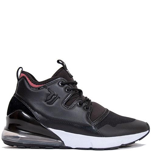 Высокие кроссовки Trussardi Jeans черного цвета, фото