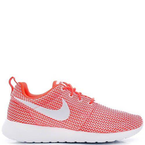 Кроссовки Nike Rocherun женские кораллового цвета, фото