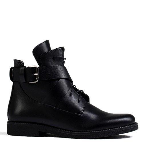 Женские ботинки Modus Vivendi черного цвета на низком ходу, фото
