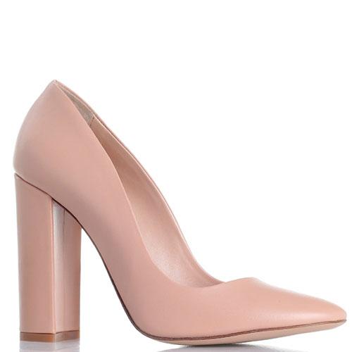 ☆ Бежевые туфли Marco Barbabella на устойчивом каблуке 581-5545 ... 6fcf50228d827