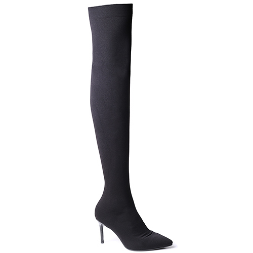 Ботфорты-чулки Tosca Blu с острым носком, фото