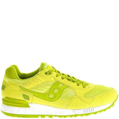 Кроссовки Saucony SHADOW 5000 S60033-75 женские лимонного цвета, фото