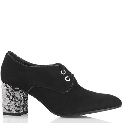 Замшевые туфли Roberto Festa на шнуровке, фото