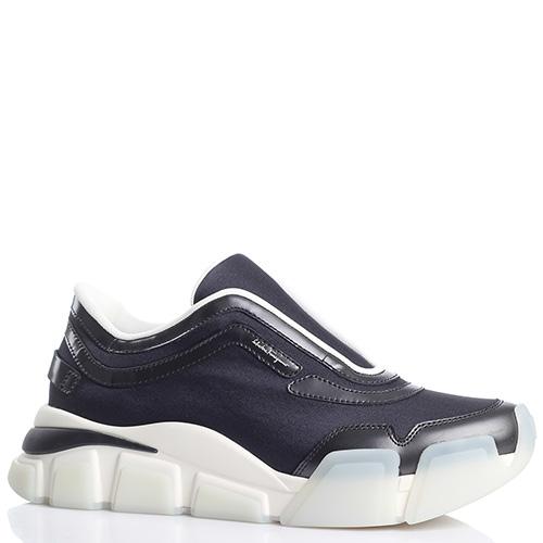 Спортивные кроссовки Salvatore Ferragamo без шнуровки, фото