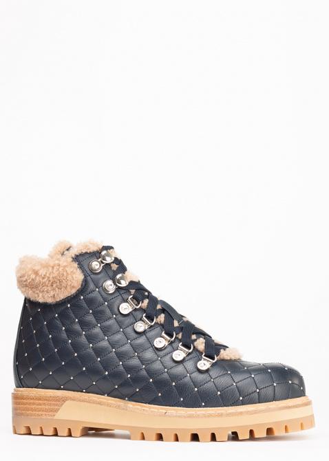 Ботинки Le Silla St. Moritz Chiffon из стеганой кожи, фото