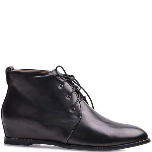 Ботинки Grado женские кожаные со скрытым каблуком, фото