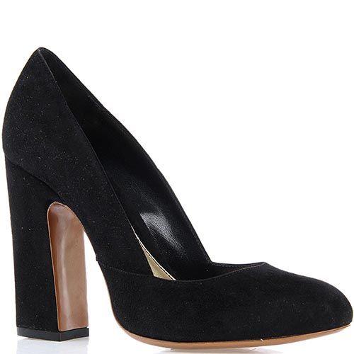 ☆ Замшевые туфли Giordano Torresi Austria на устойчивом каблуке ... 1238421c270f1