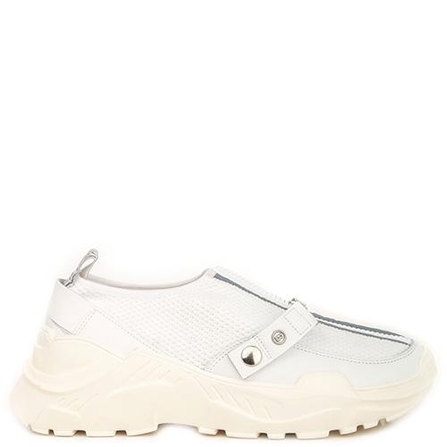 Белые кроссовки Bogner на молнии, фото