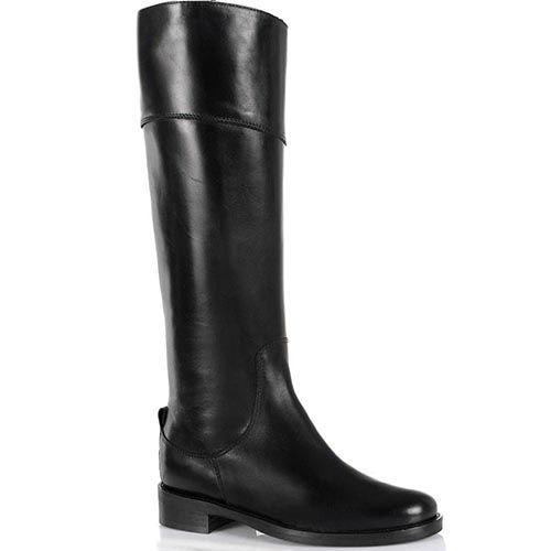 Жокейские сапоги NilaNila кожаные черные, фото