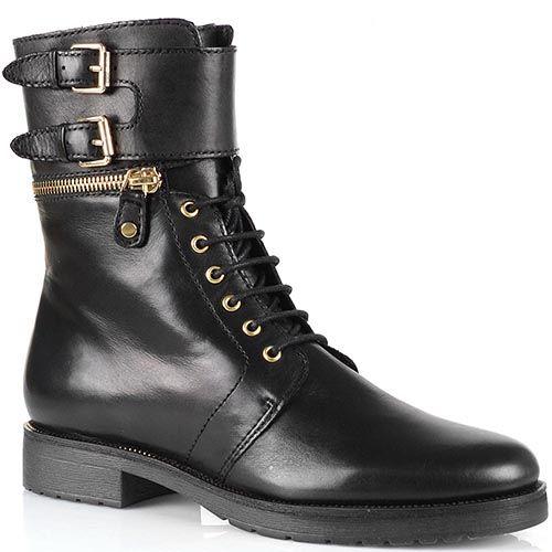 Демисезонные женские ботинки Bruno Premi на шнуровке, фото