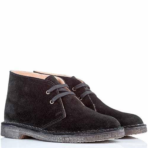 Женские ботинки-дезерты Bagatt замшевые черные, фото