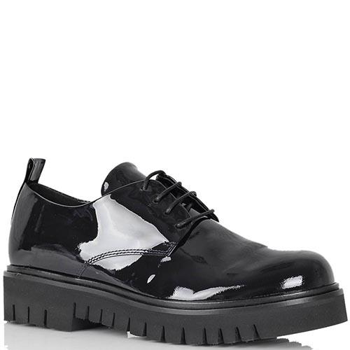 Туфли-слипоны Fru.It из натуральной лаковой кожи, фото