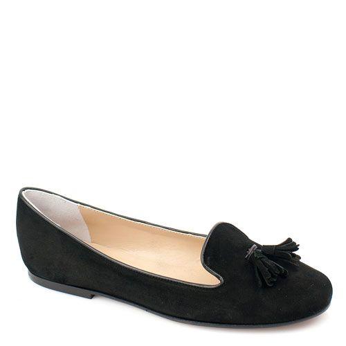 Замшевые черные мягкие слиперы Bluzi, фото