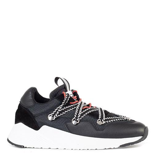 Черные кроссовки Greymer My Grey с белой подошвой, фото
