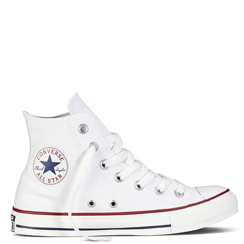 ☆ Белые высокие кеды Converse Chuck Taylor с полосами вдоль подошвы ... f6657d293b7
