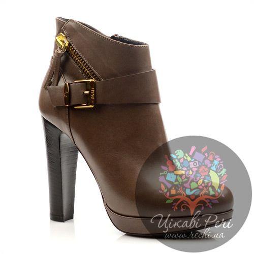 Женские итальянские кожаные ботинки Norma J Baker, фото