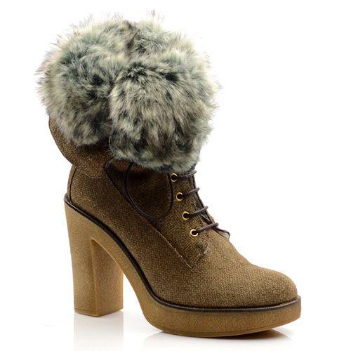 Женские зимние ботинки Studio Pollini, фото