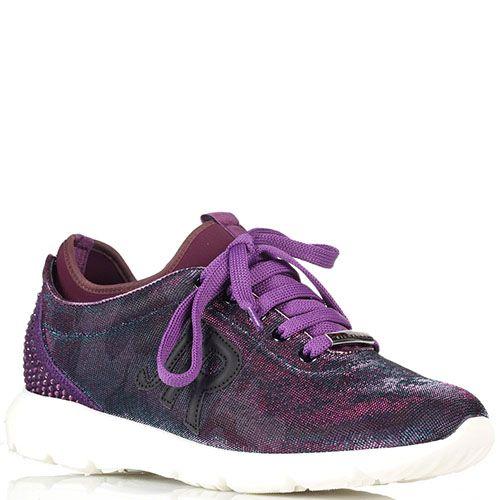 Кроссовки из текстиля John Richmond на толстой подошве, фото