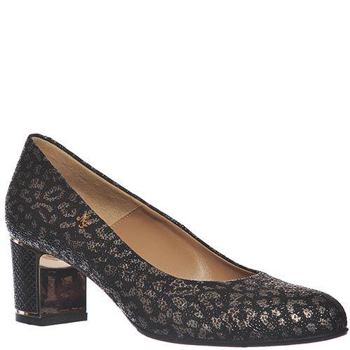 Туфли Marino Fabiani из натуральной кожи серебристого цвета, фото