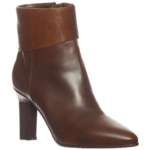 Кожаные демисезонные ботинки Marino Fabiani коричневого цвета, фото