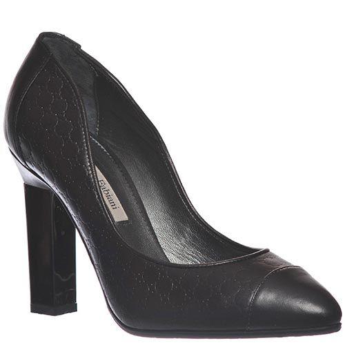 Туфли Marino Fabiani черного цвета из кожи, фото