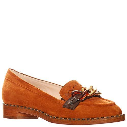 Замшевые туфли Giorgio Fabiani горчичные, фото