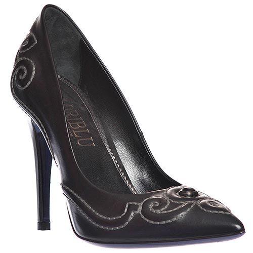Туфли Loriblu из натуральной кожи черные, фото