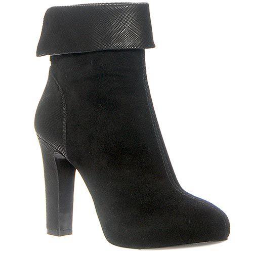 Демисезонные ботинки Loriblu черного цвета на молнии, фото