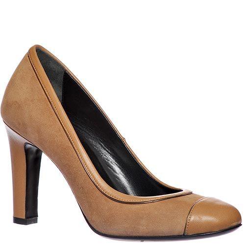 Замшевые туфли Loriblu бежевого цвета, фото