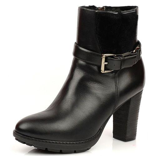 Черные зимние ботиночки на меху Tosca Blu, фото
