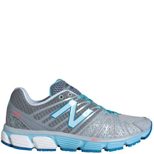Кроссовки New Balance женские 890  для бега голубой с серым, фото