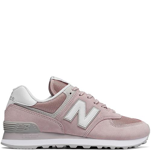 03db5335c437 ☆ Женские кроссовки New Balance 574 из замши розового цвета ...