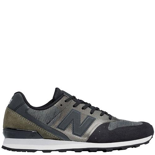 ☆ Женские кроссовки New Balance 996 Lifestyle серые с черным ... 9db7cb19a62