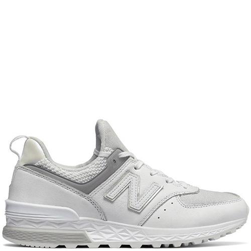 Женские кроссовки New Balance 574 белого цвета, фото