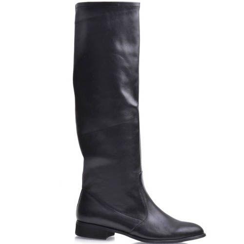 Сапоги Grado черного цвета кожаные, фото