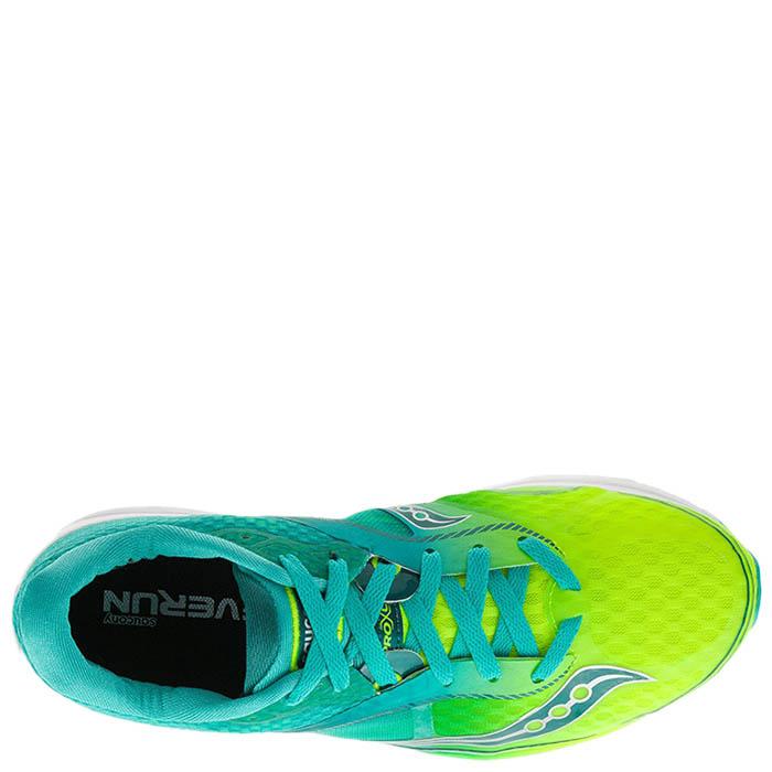 Беговые кроссовки Saucony KINVARA 7 2016'SS желто-голубые