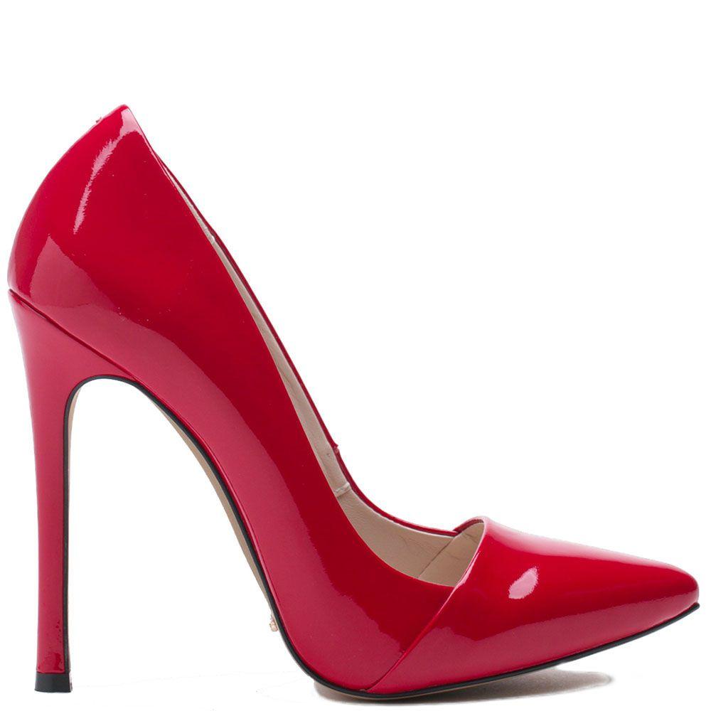 Туфли Modus Vivendi из натуральной кожи красного цвета лаковые