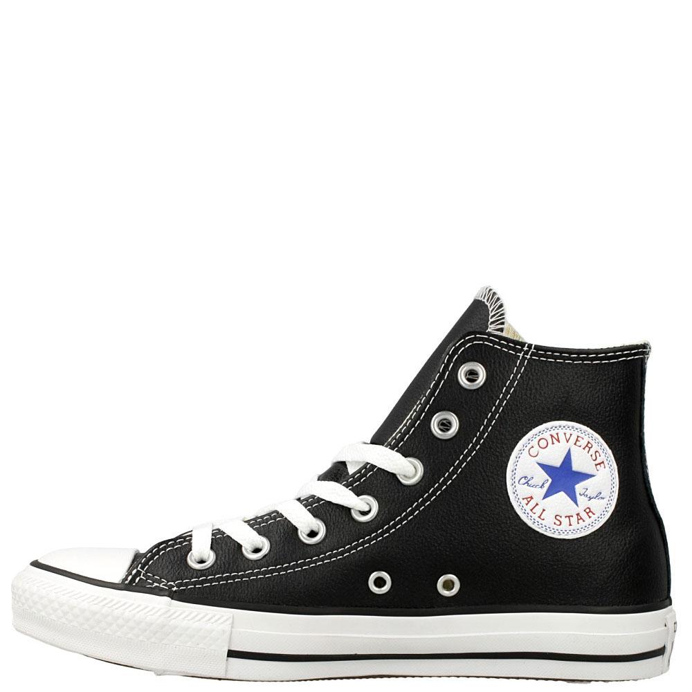 Кожаные кеды Converse Chuck Tailor All Star черного цвета