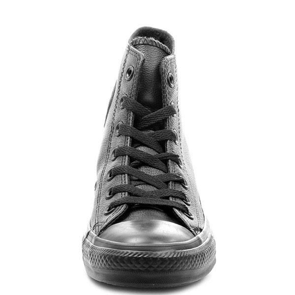 Кеды Converse Chuck Tailor All Star из натуральной кожи черного цвета