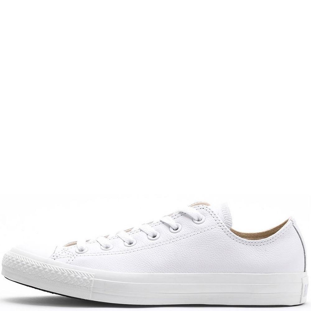 Кеды Converse Chuck Taylor All Star Leather белого цвета