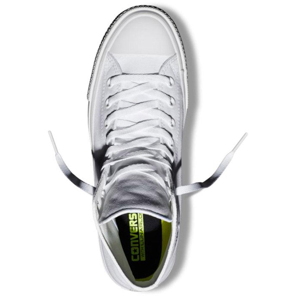 Высокие кеды Converse Chuck II белого цвета