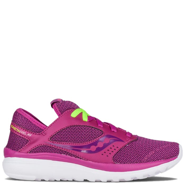 Кроссовки Saucony KINETA RELAY 2016'WA фиолетового цвета