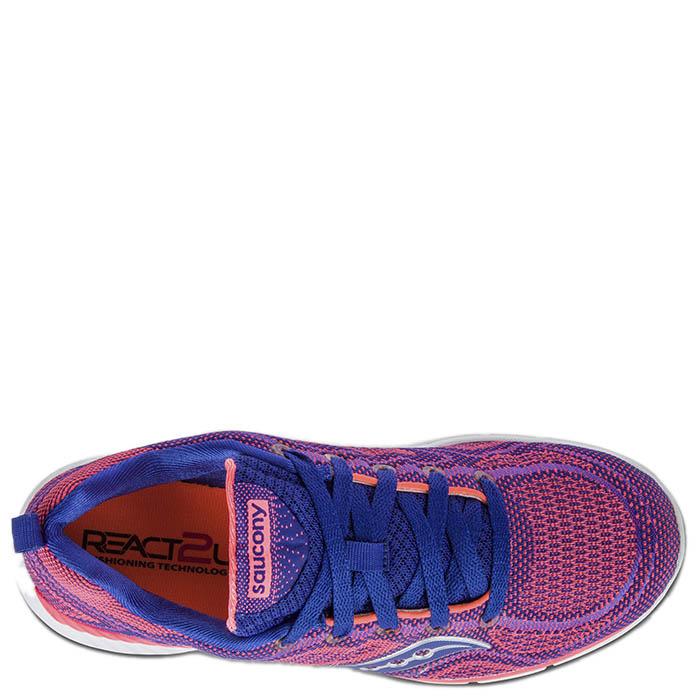 Кроссовки Saucony GRID WEB 2016'WA фиолетовые с синим