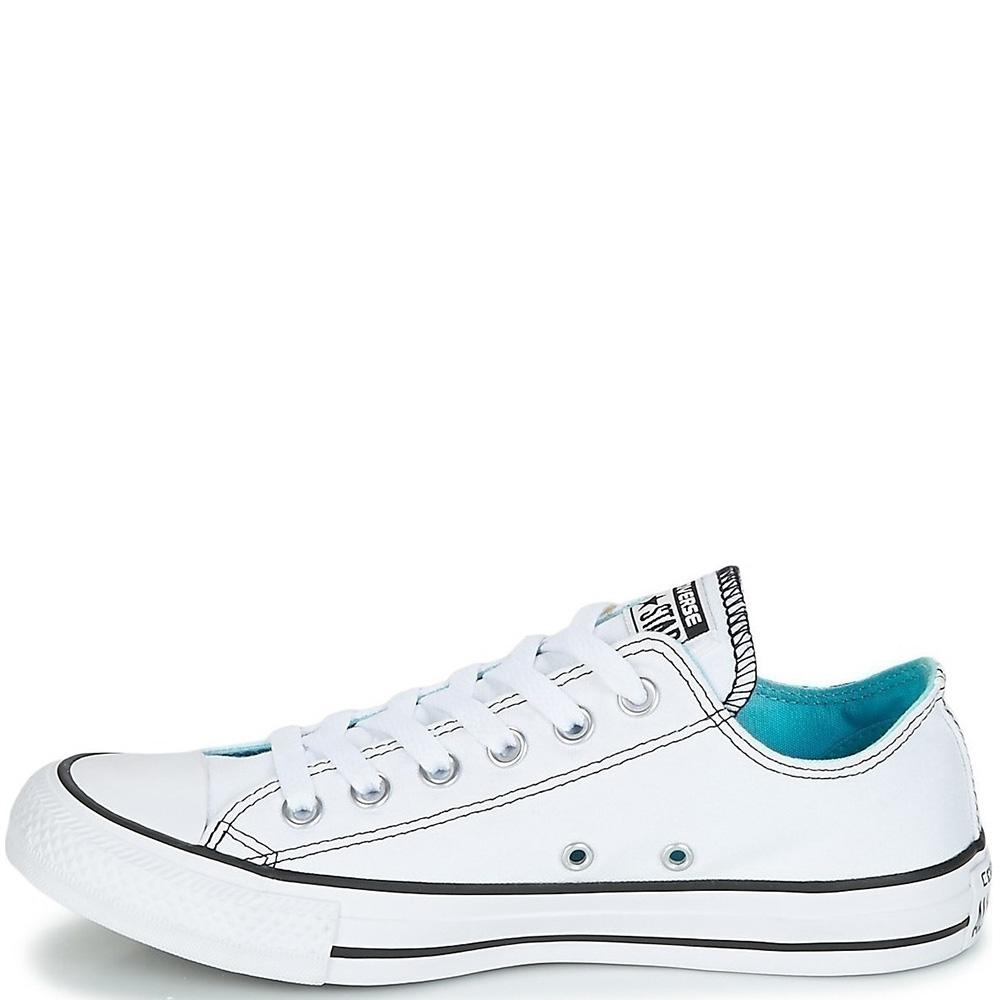 Кеды Converse Chuck Taylor All Star OX белого цвета с рисунком
